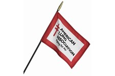 FLA010 - Custom Flag & Pennant for Non-Profits & Associations