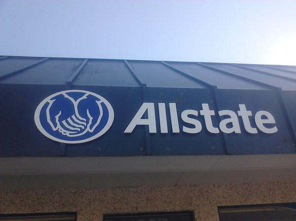 - Architectural Signage - Dimensional Signage - Allstate - Anacortes, Wa