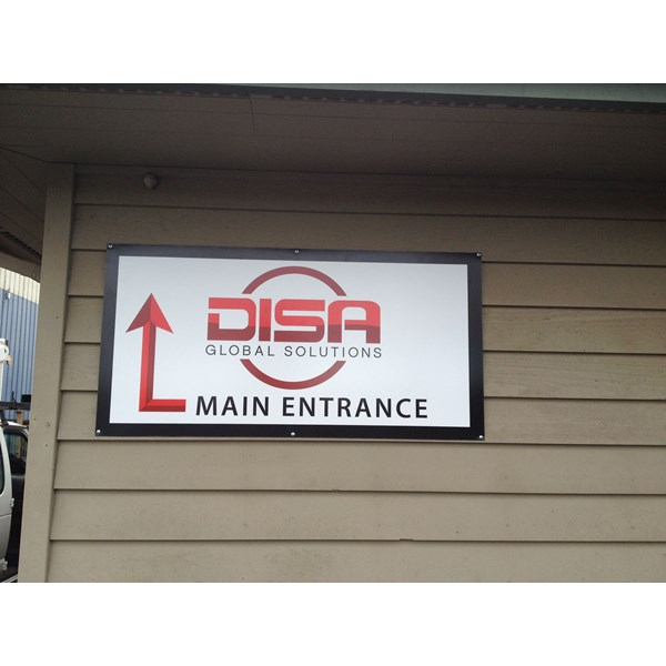 - Way Finding Signage - Rigid Signage - DISA, Inc. - Ferdale, Wa