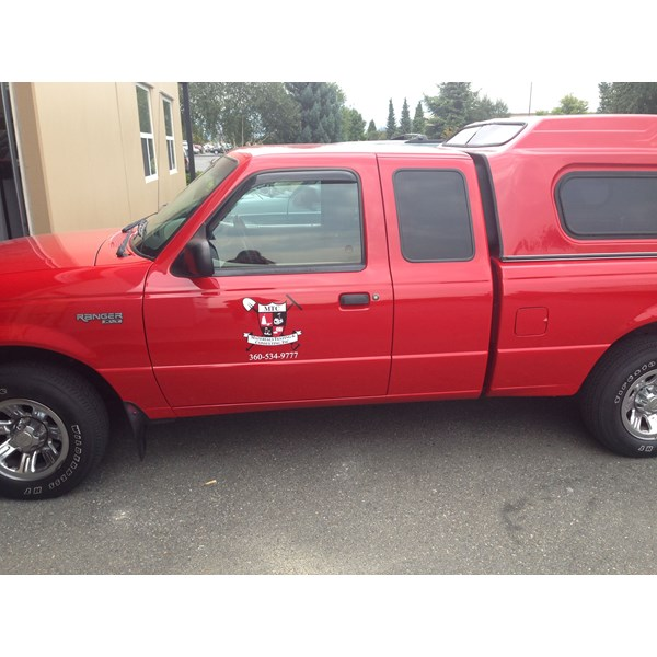 - Vehicle Graphics - Fleet Graphics - Materials Testing & Consulting - Burlington, WA